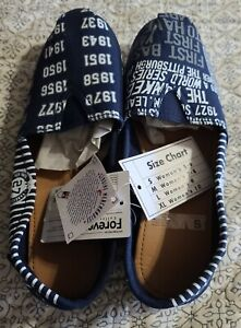 Forever Collectibles MLB NY YANKEES Womens Flat Shoes Size S 5-6