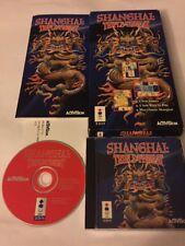 Shanghai: Triple Threat (3DO, 1995) Complete CIB In Long Box