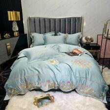 4pcs/lot Bedding set Luxury Pure Cotton Duvet cover Flat sheet 2 Pillow shames
