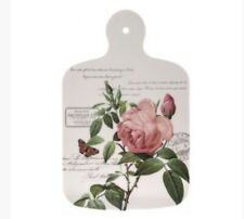 Pretty Pink Redoute Rose Cutting Board By Lesser & Pavey