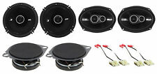 "1999-2004 Jeep Grand Cherokee Kicker Front+Rear Speakers+(2) 2.75"" Dash Speakers"