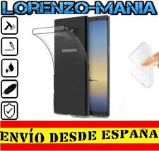 Funda Silicona Carcasa posterior Samsung Galaxy NOTE 8 Transparente 1mm