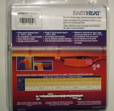 30' Electric PIPE HEAT TAPE Cable w/ Thermostat - EasyHeat - New
