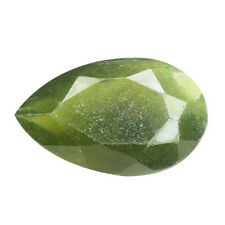 12.400CTS EXTREMLY GREEN NATURAL HYDROGROSSULAR GARNET PEAR LOOSE GEMSTONES