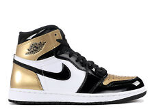 NIKE Air Jordan 1 Retro High OG NRG * Oro Top 3 * BRED BLACK * UE 43/US 9.5 * NEW *