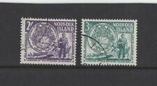 1956 Norfolk Island SG 19/20 fu set of 2