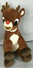 """Rudolph The Red Nosed Reindeer Plush 12"""" Stuffed Animal Commonwealth Musical"""