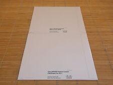 NEW Cisco FL-C2911-WAASX+SL-WAAS-RTU-1300 License PAK f. 2911 + 1300 Conn NEU