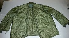 US ARMY COLD WEATHER COAT LINER  MEDIUM