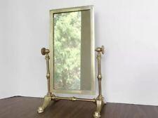 Vintage Brass Vanity Mirror/Shaving Mirror/Swivel/Tilting