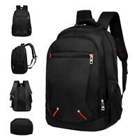 Uomo Zaino Impermeabile Laptop Bag Waterproof Zaino Viaggi di piacere 45X31X16CM