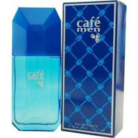 CAFE MEN by Cofinluxe edt Cologne 3.3 / 3.4 oz Spray NEW IN BOX