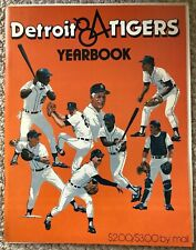 MLB Detroit Tigers 1984 Yearbook