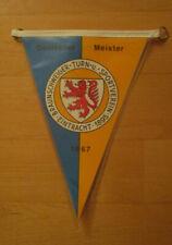 Wimpel Eintracht Braunschweig Deutscher Meister 1967 aus Sammlungsauflösung