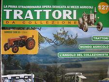 FASCICULE ITALIEN 127 TRACTEURS ET MONDE AGRICOLE SOMECA SOM 35  MCCORMICK MC115