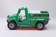 """2018 Matchbox """"Wildfire Rescue"""" Wildfire Rescue™ (Foam Fire Truck) GREEN / MINT"""