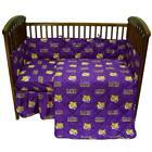 Comfy Feet LSUCS LSU 5 piece Baby Crib Set
