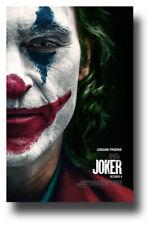 "Joker 2019 Movie Poster - 11""x17"" Joaquin Phoenix Face SameDay Ship from USA"