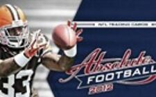2012 Absolute Football Cards RETAIL Base and Inserts U Pick 10