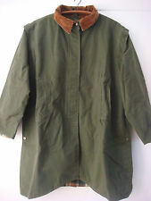 English Cotton Ventile Driride Horse Riding Jacket Coat Anne Dudley Ward