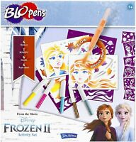 John Adams DISNEY FROZEN 2 BLO PENS ACTIVITY SET with 6 Marker BloPens