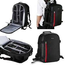 Waterproof Multi-function Large DSLR Camera Backpack Bag for Nikon Sony Canon US