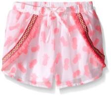 kensie Girls' Casual Short, Neon Hot Pink, 6X