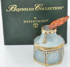 Department 56-Bejeweled Collection*Ink Well Box*no: 56.31643-