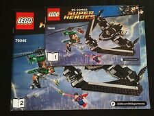 LEGO Super Heroes Heroes of Justice: Sky High Battle 76046 INSTRUCTIONS ONLY