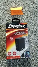 Energizer QUAD USB Wall Charger (4.9 AMP Rapid Charge)