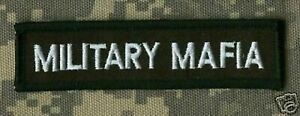 Noir Label Society Collections : Militaire Mafia BLS Fan Club Thermocollant