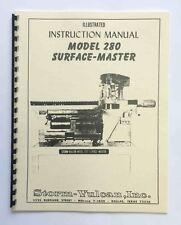 Storm Vulcan Model 280 Surface-Master Manual