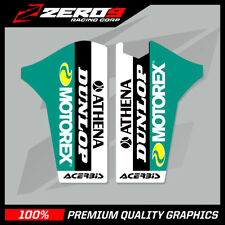 KTM SX SXF 2008 - 2014 EXC 2008 - 2015 LOWER FORK MOTOCROSS GRAPHICS DECALS MTRX