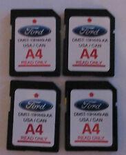 A4 4 Pack LOT 12-15 Ford Focus Edge Escape Explorer F150 Navigation map SD CARD
