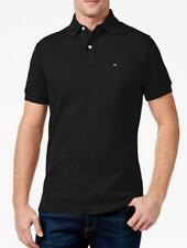 Tommy Hilfiger Negro Custom Fit Polo (actual temporada) - RRP £ 75
