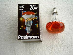 Paulmann Reflektor R50 rot 201.21 25 Watt E14 230 V