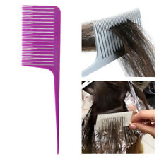 Plastic Weave Highlighting Foiling Hair Comb Salon Styling Dyeing Hair Combs