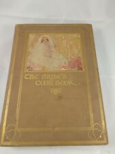 The Bride's Cook Book Laura Davenport Housekeeper Recipes 1908