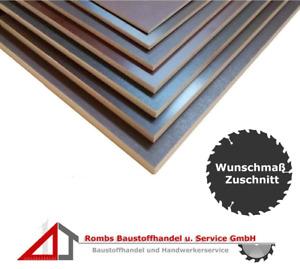 Siebdruckplatte 12mm Zuschnitt Multiplex Birke Holz Bodenplatte 50x30 cm