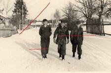 WWII WK  photo soldats allemands tarnjacke 100% originale