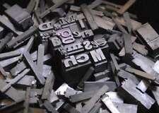 ☆★888 Buchstaben Bleibuchstaben Bleischrift letterpress imprimerie Bleilettern☆★