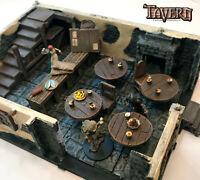 4x Tavern Tables w/Ale! for D&D Pathfinder 100%Handmade Terrain Tavern Miniature