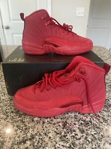 "Air Jordan 12 Retro Gs ""Gym Red"" GS 153265 601 Size 6.5Y (Women's Size 8)"