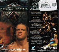 WWE WWF WCW Armageddon 99 1999 New Wrestling VHS Tape