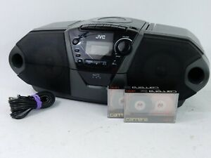 JVC  RC-QN1 CD/Cassette Tape Portable Radio Boombox - Fully Functional