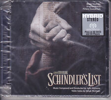 Schindler's List OST Soundtrack Limited Numbered Japan Hybrid SACD John Williams
