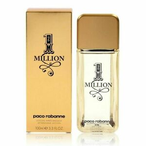 PACO RABANNE One Million After Shave Lotion 100ml for Men BRAND NEW Genuine