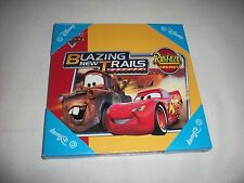 Brand New Disney Wooden Wall Plaque-Cars - Blazing New Trails - Rust-eze Racing