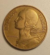 1963-20 centimes franc,Marianne-ttb-M1