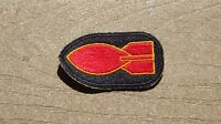 WW2 US Army Military Bomb Disposal Personnel Patch SSI INSIGNIA CUT EDGE